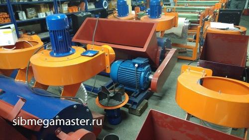 Дробилка пенопласта из вентилятора сетка канилированная в Железногорск
